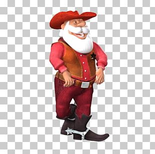 Santa Claus Christmas Ornament 3D Computer Graphics PNG