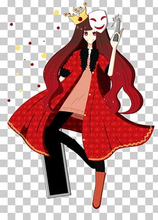 Cartoon Costume Character Female PNG