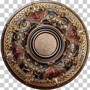 Medallion Painting Painted Ceiling PNG