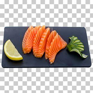 Sashimi Smoked Salmon Sushi Salmon As Food Platter PNG