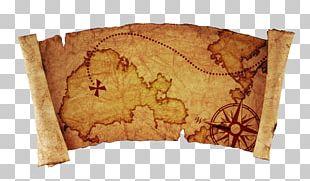 Treasure Map World Map Stock Photography PNG