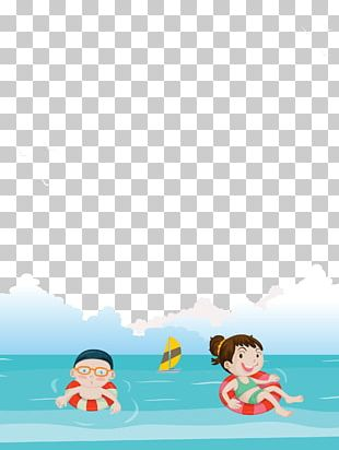 Swimming Poster PNG