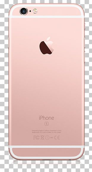 IPhone 6s Plus Apple Telephone Rose Gold PNG