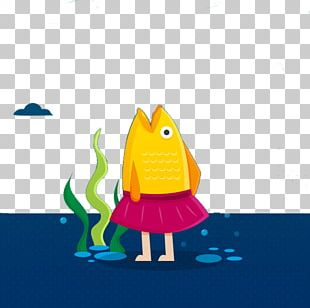 Fishing Flat Design Illustration PNG
