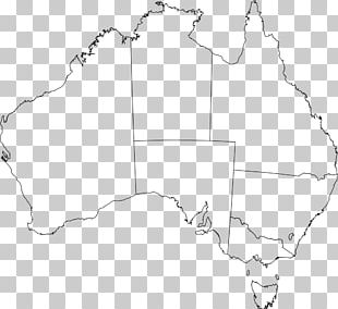 Flag Of Australia Blank Map PNG