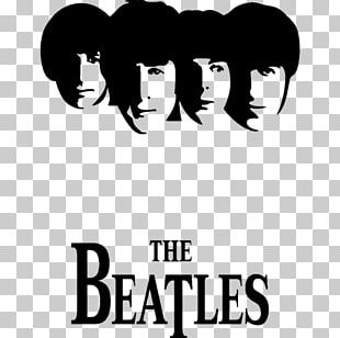 The Beatles Abbey Road Silhouette Stencil PNG