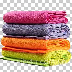 Towel Bathroom Textile Cotton PNG