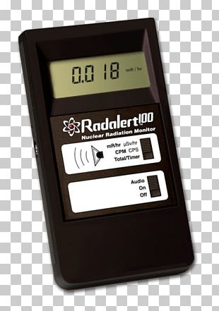 Radiation Geiger Counters Radioactive Decay Particle Detector Light PNG