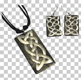 Earring Charms & Pendants Body Jewellery Celtic Knot Silver PNG