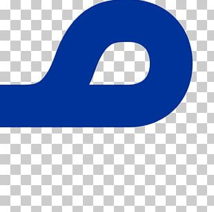 Electric Blue Cobalt Blue Logo PNG