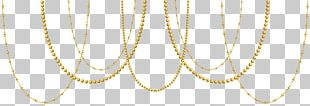 Necklace Gold Material Font PNG
