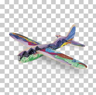 Airplane Model Aircraft Wing Propeller PNG