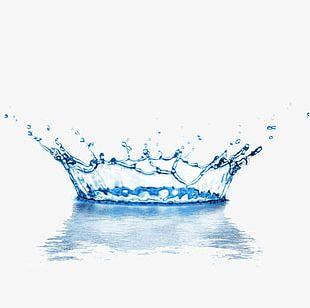 Water Droplets Splash PNG