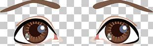 Cartoon Eye Drawing PNG