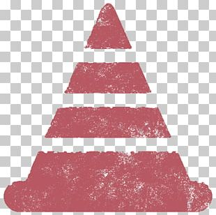 Christmas Tree Christmas Ornament Triangle Pink M PNG