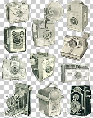 Glasgow Drawing Camera Photography Illustration PNG