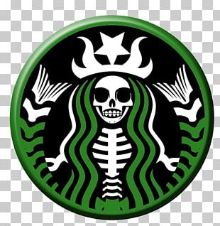 Starbucks Tea Coffee Calavera Jack-o'-lantern PNG