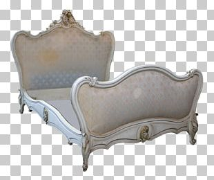 Bed Frame Louis XVI Style Bed Size Couch PNG