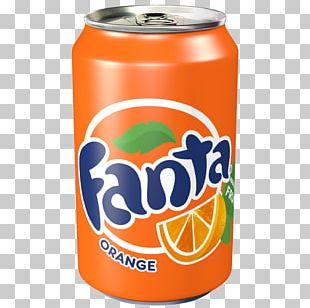 Fizzy Drinks Coca-Cola Fanta Orange Soft Drink Diet Coke PNG