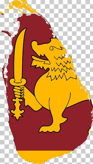 Flag Of Sri Lanka National Flag Country PNG