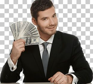 Businessman Cash PNG