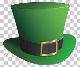 Leprechaun Top Hat Saint Patrick's Day PNG