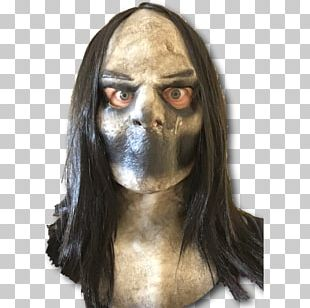 Latex Mask Halloween Costume Bughuul PNG