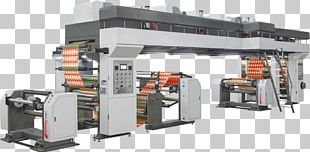 Machine Paper Lamination Printing Rotogravure PNG