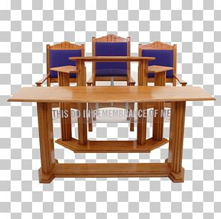 Table Pulpit Lectern Church Furniture PNG