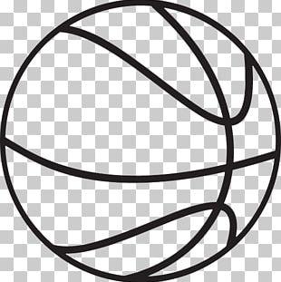 Basketball Black White Backboard PNG