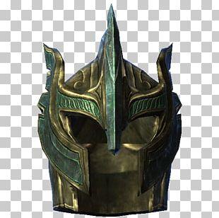 The Elder Scrolls V: Skyrim – Dragonborn Armour Combat Helmet Mod PNG
