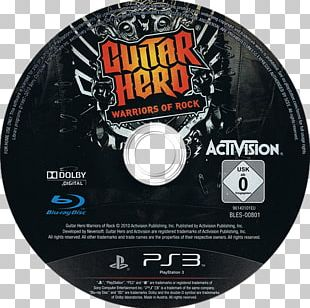 Guitar Hero: Warriors Of Rock Xbox 360 Compact Disc Guitar Controller Rock Band PNG