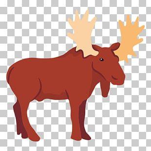 Moose Reindeer Elk PNG