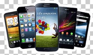 Samsung Galaxy IPhone Smartphone Handheld Devices PNG