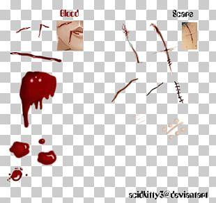 Blood Scar PNG