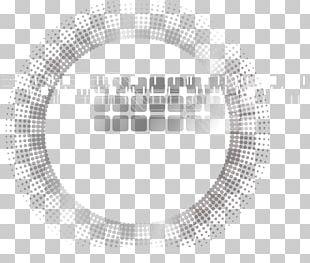 White Circle Graphic Design Brand PNG
