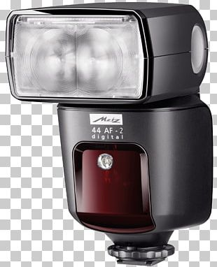 Camera Flashes Canon EOS Flash System Metz 44 AF-1 Through-the-lens Metering PNG