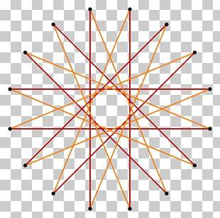 Hexadecagon Star Polygon Regular Polygon Shape PNG