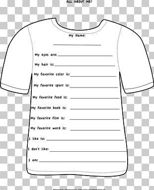 T-shirt Shoulder Sleeve Paper White PNG