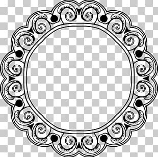 Frames Borders And Frames Black And White PNG