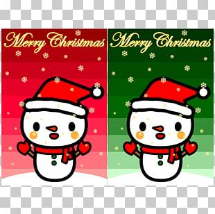 Illustration Santa Claus Snowman Christmas Day PNG