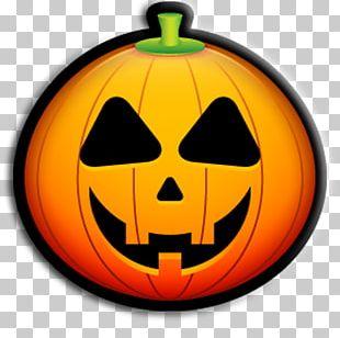 Jack-o'-lantern Emoticon Halloween Pumpkin Carving PNG