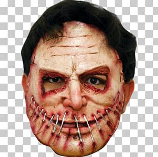 Latex Mask Halloween Costume Clothing PNG