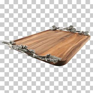 Wood Tray Oak Table Cloth Napkins PNG