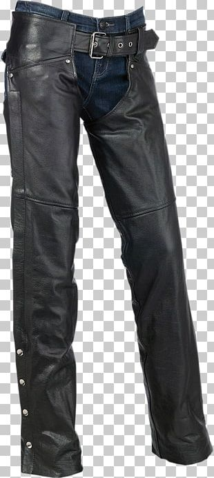 Chaps Motorcycle Helmets Leather Pants PNG