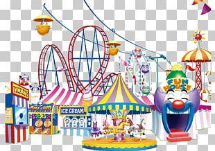 Carousel Amusement Park PNG