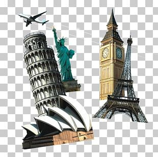 Leaning Tower Of Pisa Sydney Opera House Sydney Tower Statue Of Liberty Monument PNG
