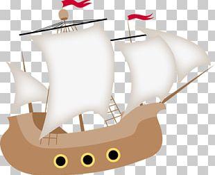Piracy Sailing Ship PNG