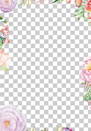 Paper Flower Drawing PNG
