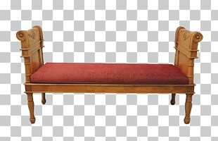 Loveseat Chaise Longue Chair Couch Bed Frame PNG